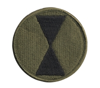 Rothco Subdued 7th Infantry Division Patch - 72136
