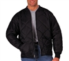 Rothco Black Diamond Quilted Flight Jacket 7230