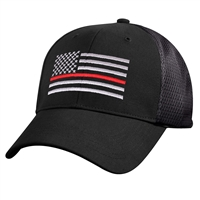 Rothco Mesh Back Thin Red Line Tactical Cap 7493