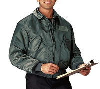 Rothco Sage Green CWU-45P military style flight jacket - 7520