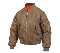 Rothco Coyote MA-1 Flight Jacket 7544