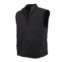 Rothco Black Undercover Travel Vest - 75500