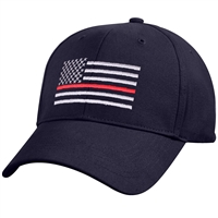 Rothco Navy Thin Red Line Low Profile Cap 7659