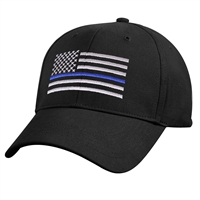 Rothco Kids Low Profile Thin Blue Line Flag Cap 7692