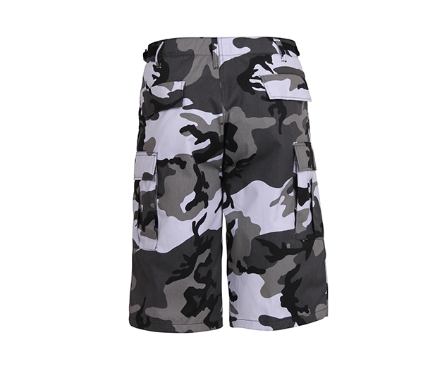 0c8781f75ba9a0 Rothco City Camo Long BDU Shorts - 7769