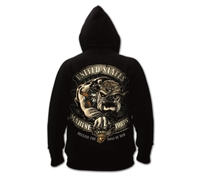 Rothco USMC Bulldog Hooded Sweatshirt - 80333