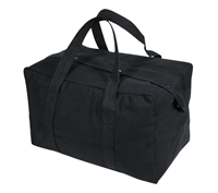 Rothco Small Black Parachute Cargo Bag - 8107