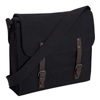 Rothco Black Canvas Medic Bag - 8138