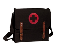 Rothco Black Canvas Nato Medic Bag - 8142