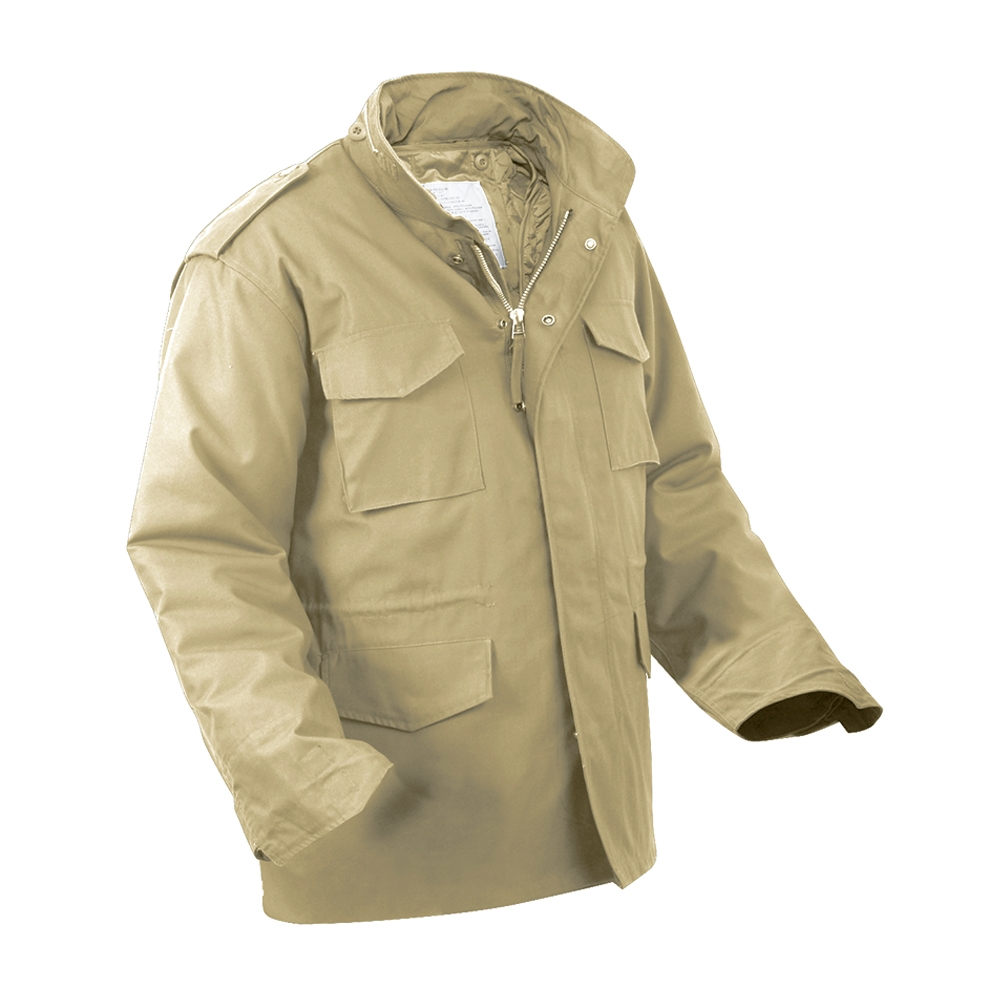 188382ee5ffb3 Rothco Khaki M-65 Field Jacket - 8254. View Larger Photo