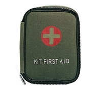 Rothco Military Zipper First Aid Kit Pouch - 8325