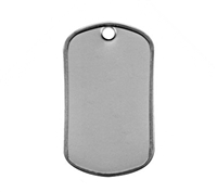 Rothco Matte Finish Dog Tag - 8383