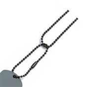 Rothco Black Dog Tag Chain - 8394