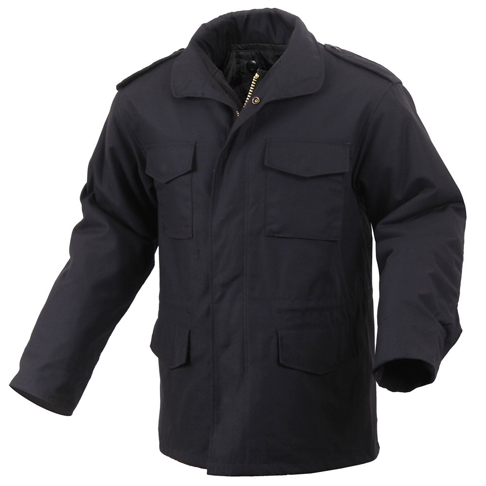 Rothco Black M-65 Field Jacket - 8444 a4d5e516a70