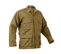 Rothco Coyote Solid BDU Shirts - 8508