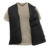Rothco Black Pro Lightweight Concealed Carry Vest 86705