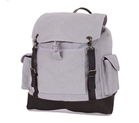Rothco Grey Vintage Expedition Rucksack - 8744