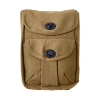 Rothco Coyote Brown 2-pocket Ammo Pouch 9000