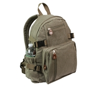 Rothco Olive Drab Vintage Mini Backpack - 9152