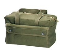 Rothco Olive Drab Tool Bag with Brass Zipper - 9182