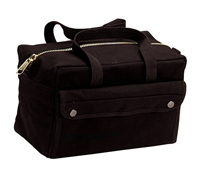 Rothco Black Tool Bag With Brass Zipper - 9192