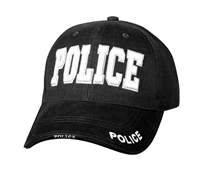 Rothco Black Deluxe Police Low Profile 9383