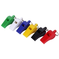 Rothco Assorted Colors Plastic Whistles - 9400