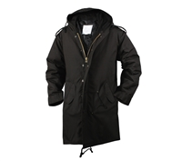 Rothco Black M-51 Fishtail Parka - 9464