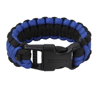 Rothco Black & Royal Blue Paracord Bracelet 973