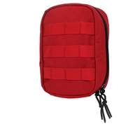 Rothco Red Molle Tactical First Aid Pouch - 97760