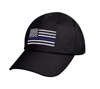 Rothco Tactical Thin Blue Line Mesh Cap 9973