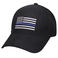 Rothco Thin Blue Line Flag Low Profile Cap 99885