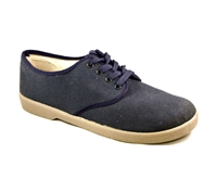 Zig-Zag Navy Wino Shoes - 7201