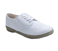 Zig-Zag White Wino Shoes - 7201