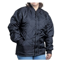 37bdcc1fdcc54 Snap N Wear Quilted jacket with Knit Collar and Cuffs 1000-I