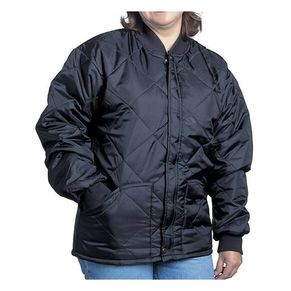 Snap N Wear Quilted jacket with Knit Collar and Cuffs - 1000-I : how to wear quilted jacket - Adamdwight.com