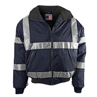 Snap N Wear Navy Safety System Jacket Liner - 726T
