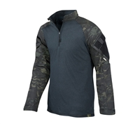 Tru-Spec Black Multicam Combat Shirt - 2539