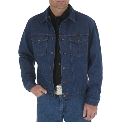 Wrangler Prewashed Western Denim Jacket 74145PW