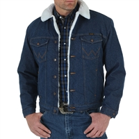 Wrangler Sherpa Lined Denim Jacket 74255PW
