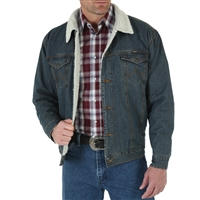 Wrangler Sherpa Lined Denim Jacket 74256RT