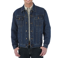Wrangler Flannel Lined Denim Jacket - RJK32AN