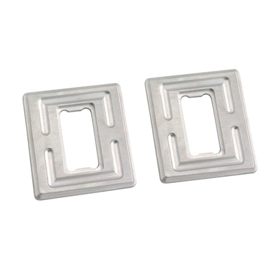 Billet Aluminum Single Switch Plates