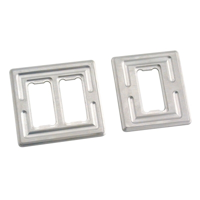 Billet Aluminum Switch Plates Dual / Single