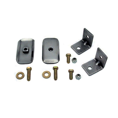 Retractable Lap Belt Anchor Kit for Bucket Seat