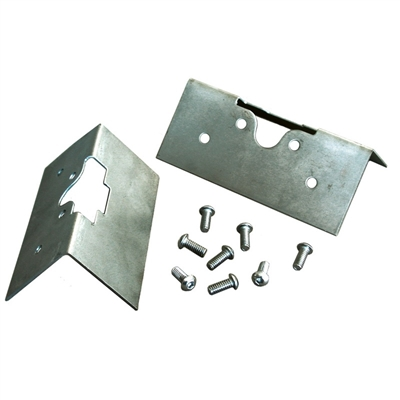 Medium Bear Claw Latch Installation Plates - Pair