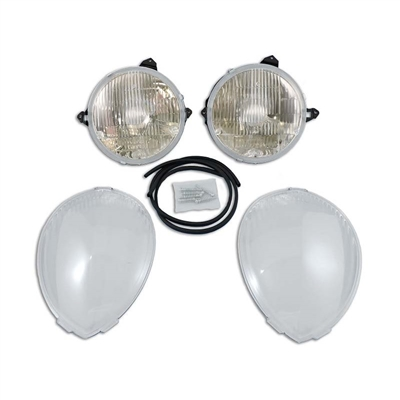Aero-Brite Headlight Kit System 1 - '37-'39 Std Ford Car