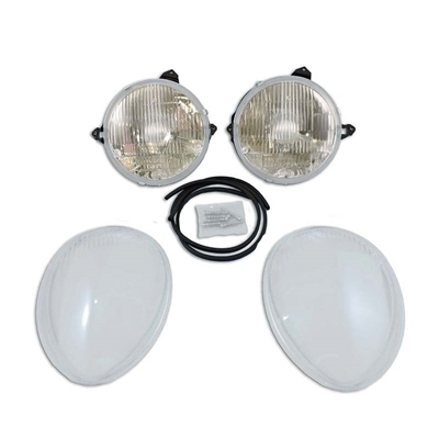 Aero-Brite Headlight Kit System 1 - '39 Dlx Ford Car