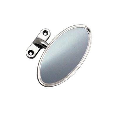 Garnish Mount Oval Rear View Mirror