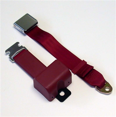 Chrome Lift Latch Retractable Lap Belt